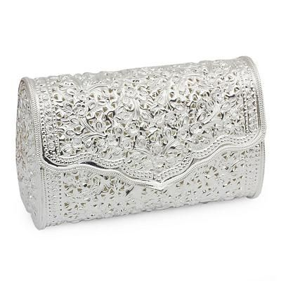 Sterling silver plated clutch handbag, 'Jasmine'. Shop from #UNICEFMarket and help save the lives of children around the world.