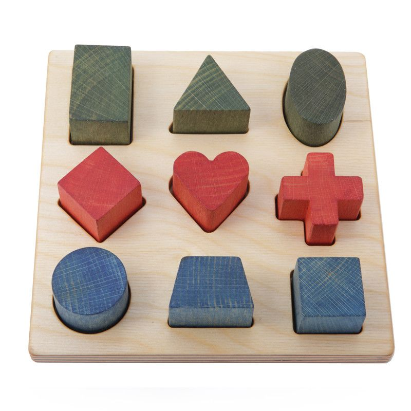 Tabla puzzle de formas – Ticumiku Toys