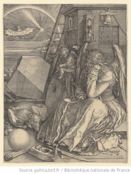 Melancholia Durer Art De La Renaissance Dessin Gravure