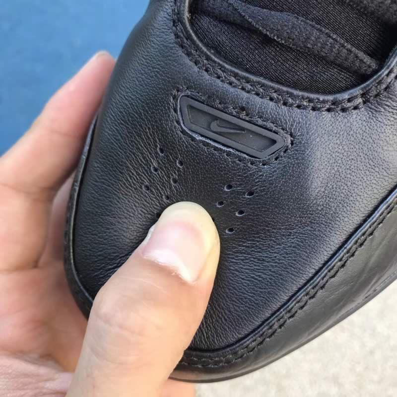 46cfa6764f5d Nike Air Zoom Generation QS LeBron James LBJ1 Black Red Shoes AJ4204-001  Head -