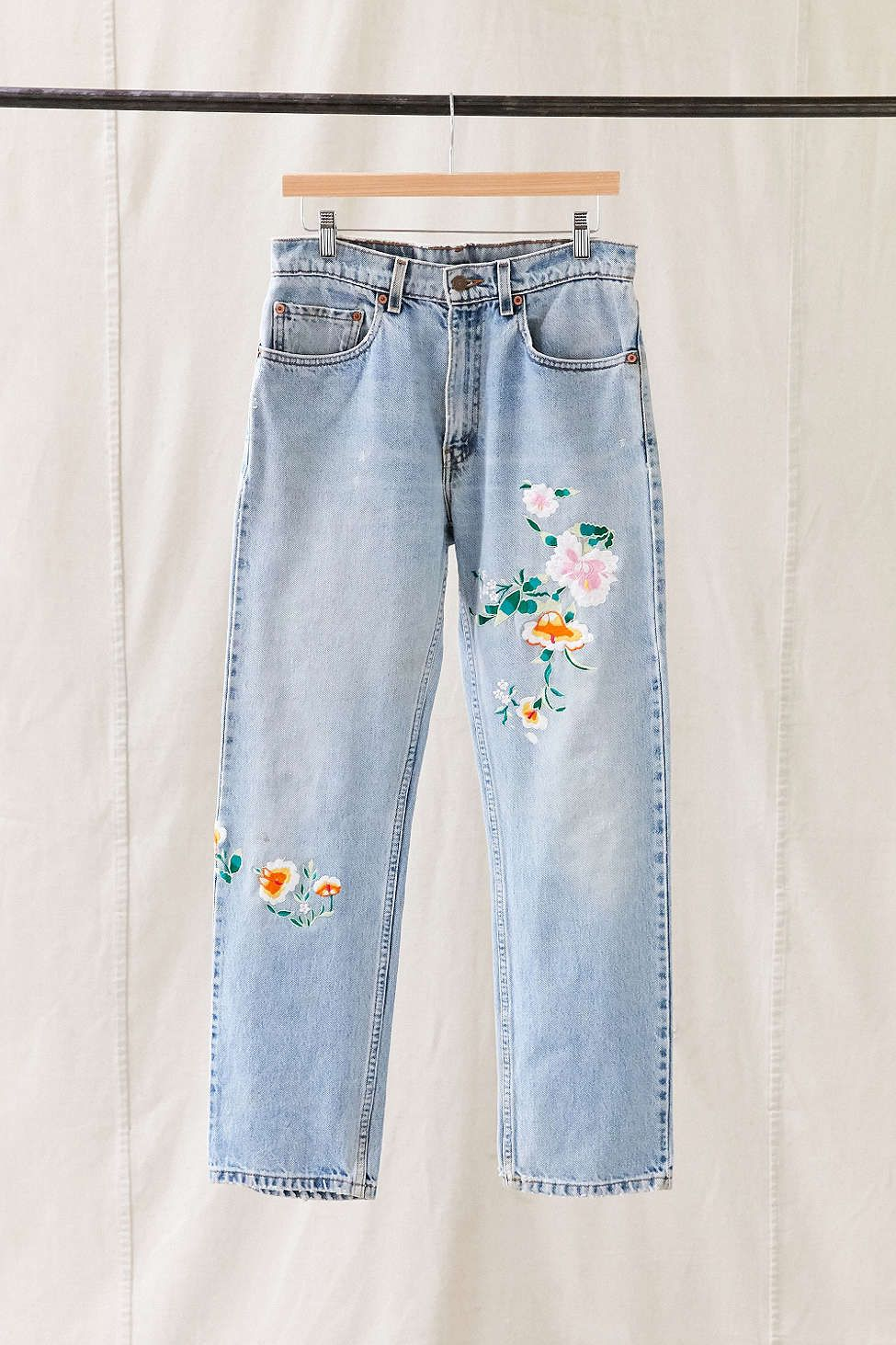 Vintage Levi s Floral Embroidered Jean  24bf2d7074e0b