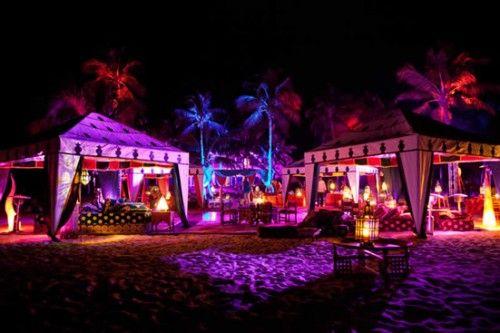 Beach party setup  Chill scene  | Life, the Universe