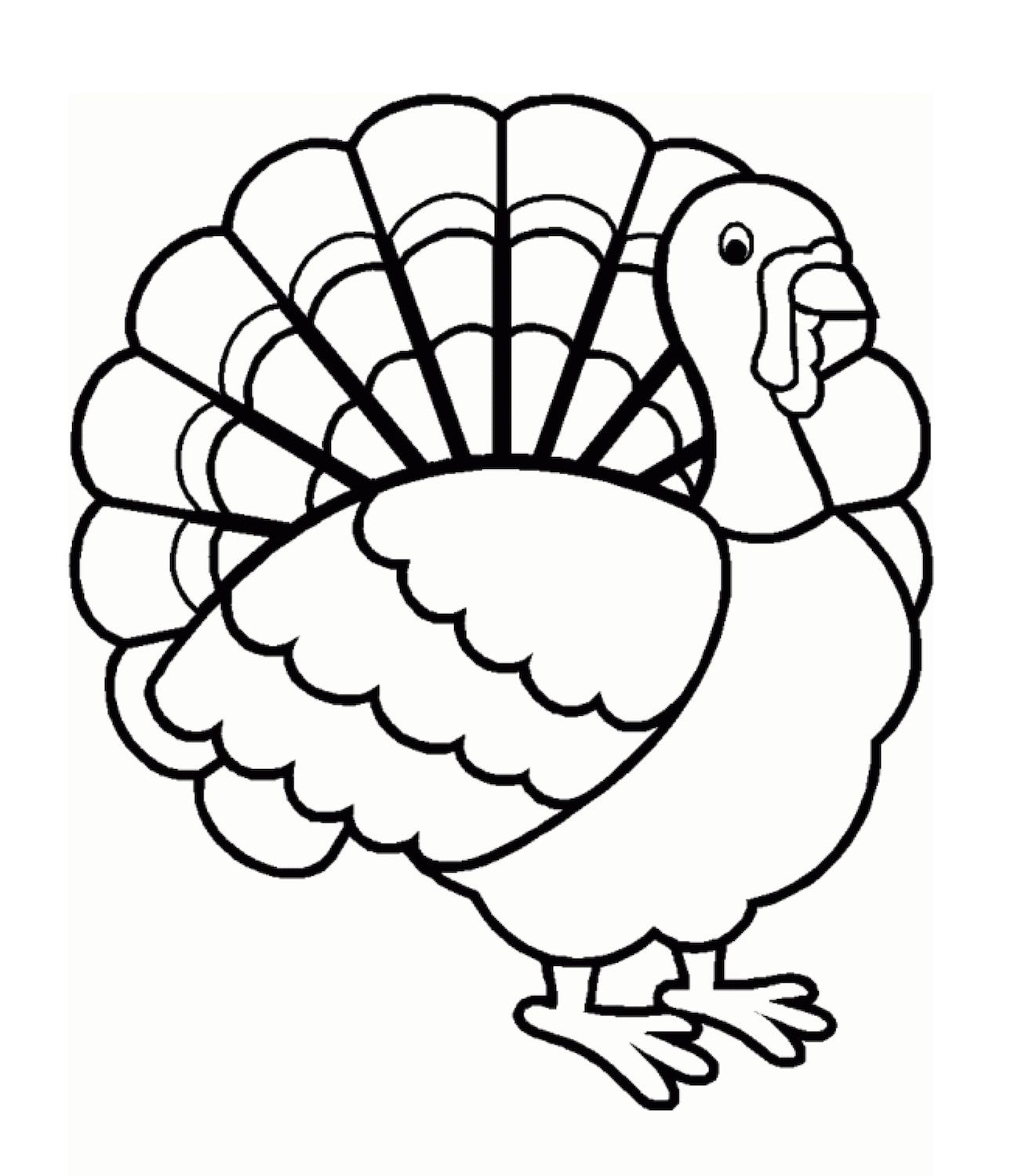 30 Best Of Thanksgiving Turkey Coloring Pages In 2020 Turkey