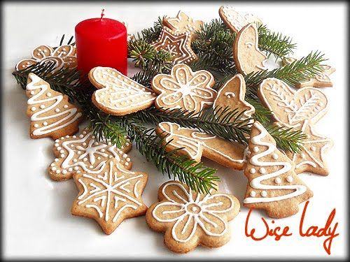 Hungarian Christmas Traditions.Hungarian Cook Gingerbread Traditional Hungarian