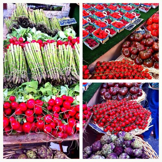 More beautiful produce pictures from the market in Provence, France.