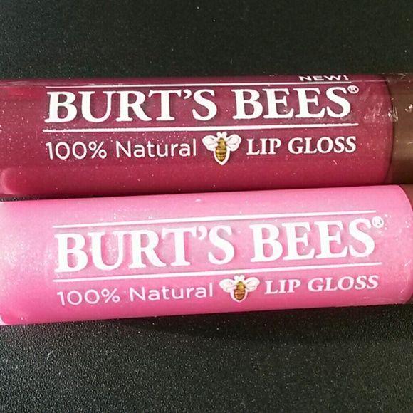 BRAND NEW BURT'S BEES LIP GLOSS New 269 Starry Night and 233 Rosy Dawn Burt's Bees  Makeup Lip Balm & Gloss