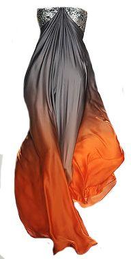 hg fire dress  Naeem Khan Spring 2009