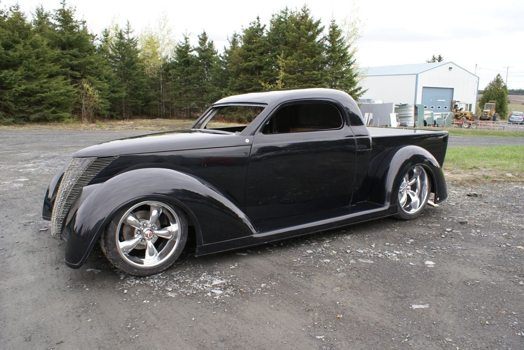 1937/1940 FORD PICKUP   (actually a kit car... but totally awesome)  ROLLING CHASSIS, BODY, GRILLE & GLASS PACKAGE