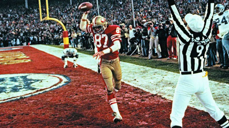 A look at the career that made dwight clark a legend san