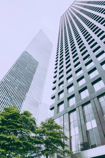 urban skyscraper facade