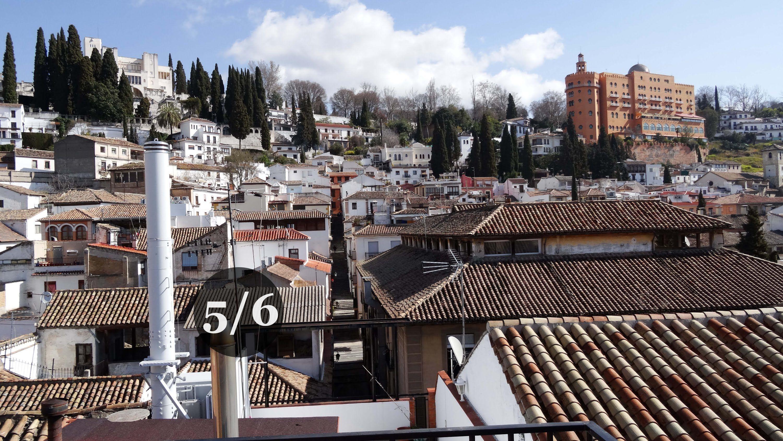 Granada Centro Vistas Desde La Terraza Del Hotel Molinos