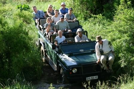Fun in the Field on the Safari Guide Courses in Africa