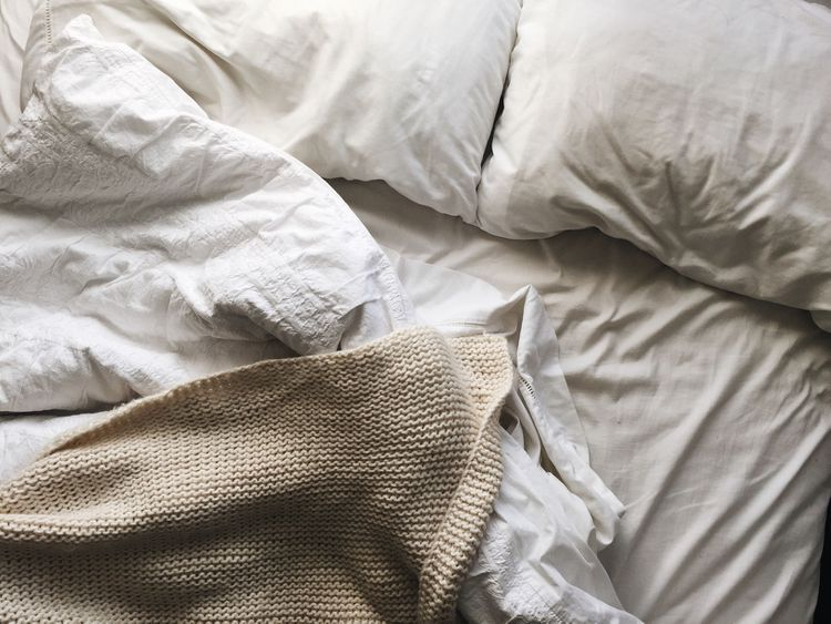 When To Wash Your Sheets Blankets Pillows And Other Bedding Food For Sleep Sheets Good Night Sleep