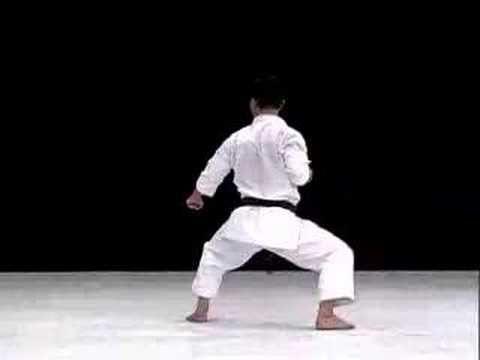 WKF Shitei Kata - Goju Ryu Seipai