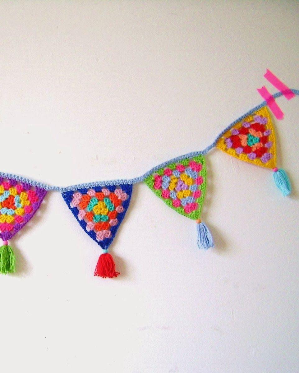scrap yarn idea, via silly old suitcase