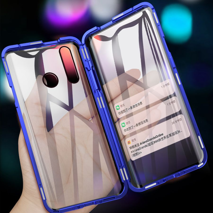 Case for huawei p smart z case glass