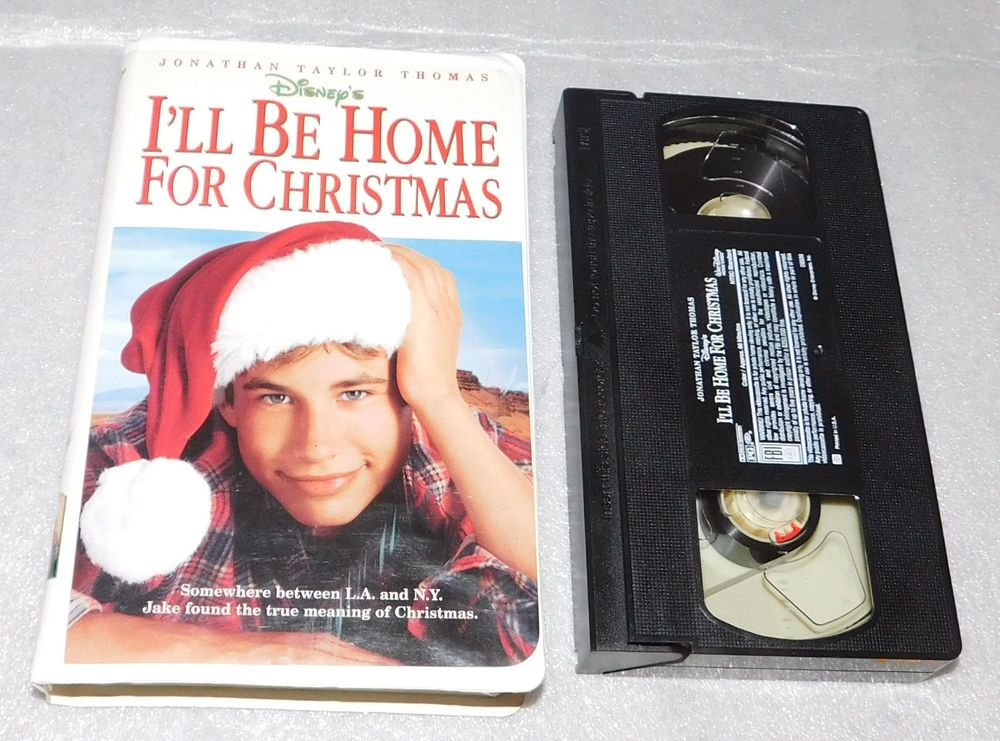 Ill Be Home For Christmas Vhs.Disney I Ll Be Home For Christmas Vhs Clamshell Jonathan