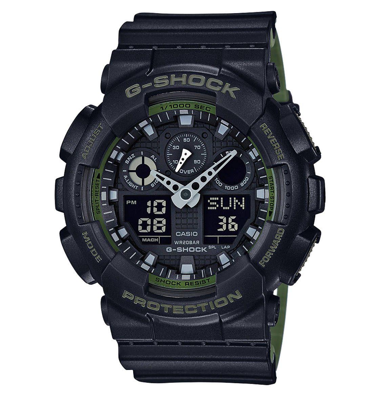 CASIO Armbanduhr GA100L1AER, Chronograph Galeria