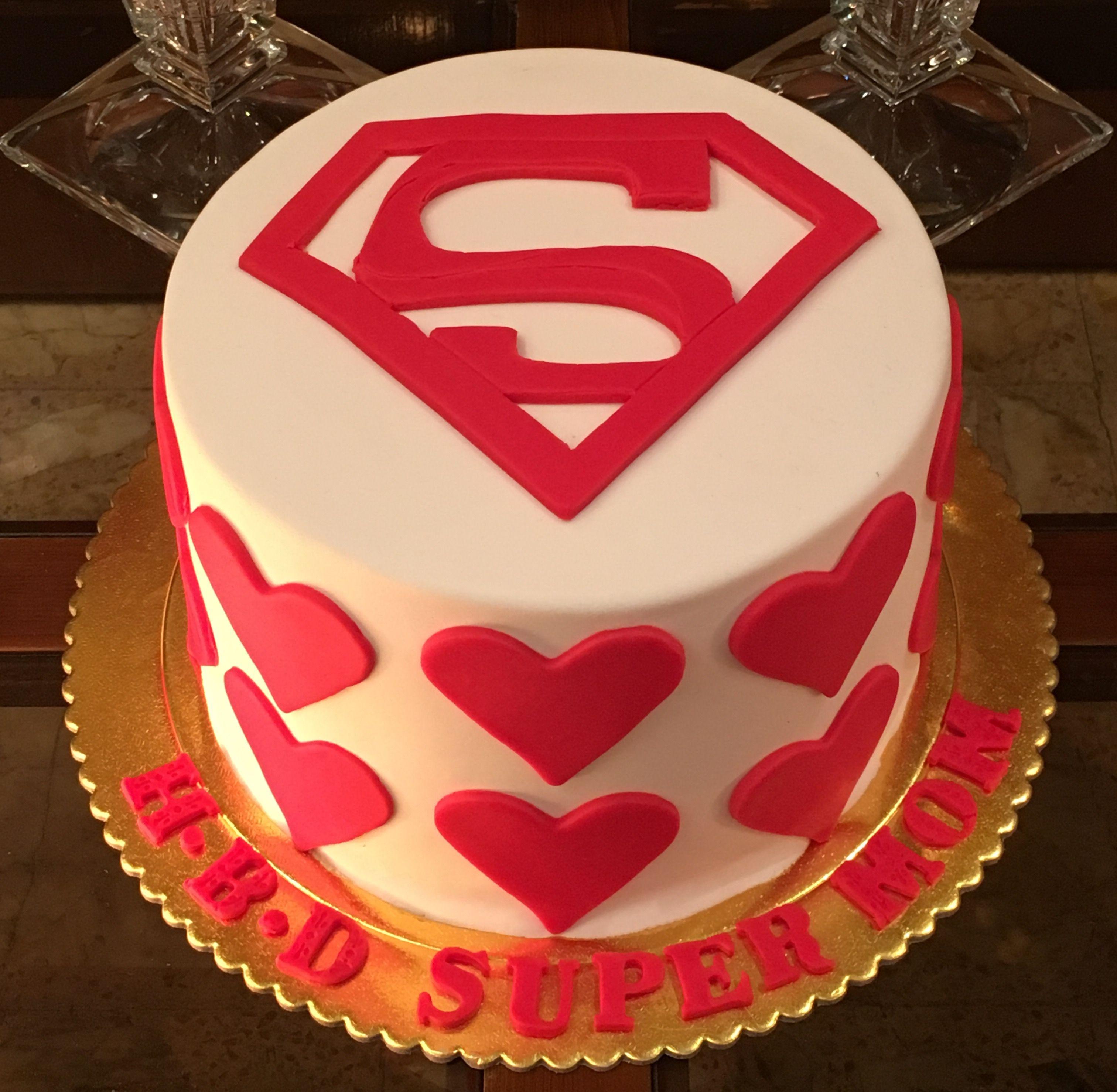 Happy birthday super mom cake with images mom cake