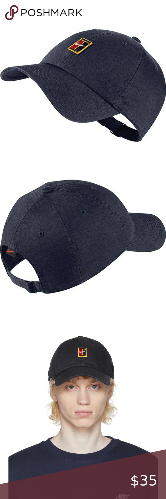 Nike Court Heritage 86 Logo Cap Tennis Black In 2020 Clothes Design Cotton Twill Fabric Fashion
