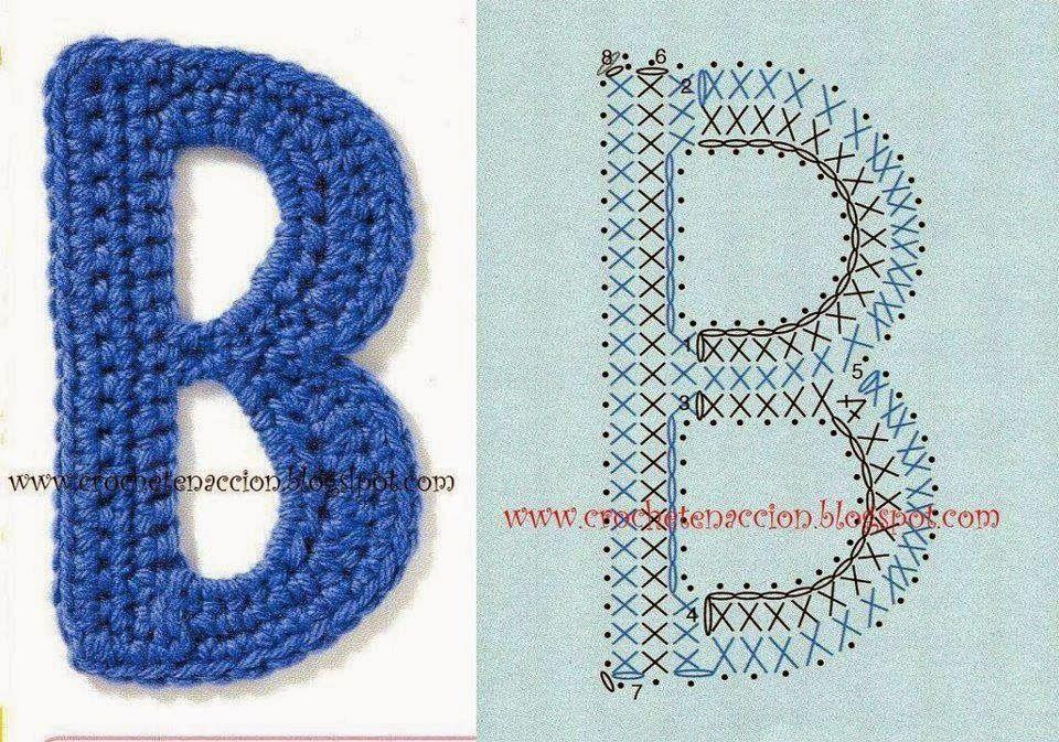 Hæklet alfabet