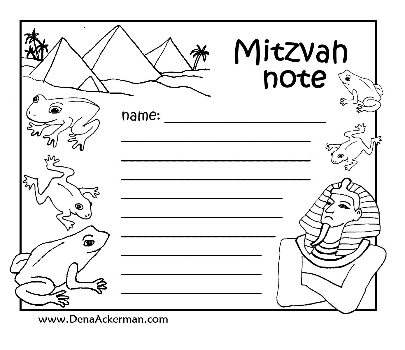 Passover Mitzvah Notes For Kids Pesach Coloring Page Picture Http Issuu Com Jcreatemag Docs Issue05 March2014 3 Learn Hebrew Jewish Crafts Bible Worksheets [ 1203 x 1389 Pixel ]