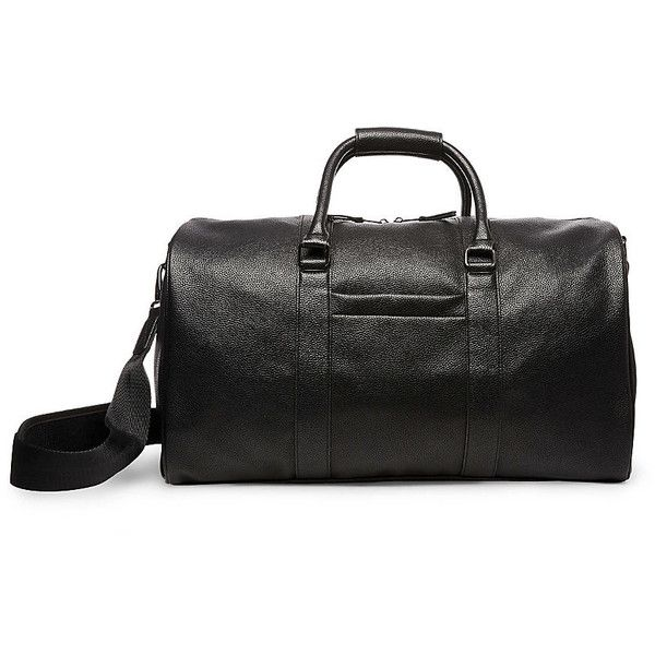 8156ee1dcf0 Steve Madden MM-708B ($150) ❤ liked on Polyvore featuring men's fashion, men's  bags, black, mens duffle bags and men's duffel bags