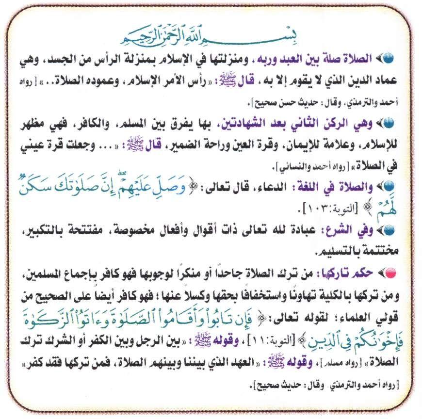 الصلاة عمود الدين أركان الصلاة شروط الصلاة واجبات الصلاة سنن الصلاة مبطلات الصلاة مكروهات الصلاة Islam Beliefs Islamic Quotes Islam