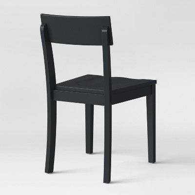 Bethesda Modern Dining Chair Black Set Of 2 Project 62
