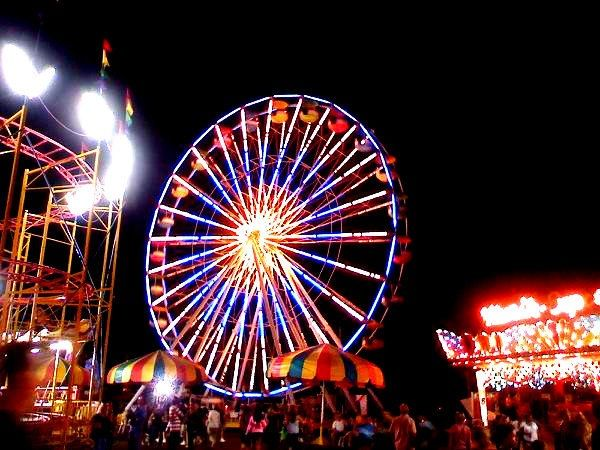 Erie County Fair - best place to eat in August!
