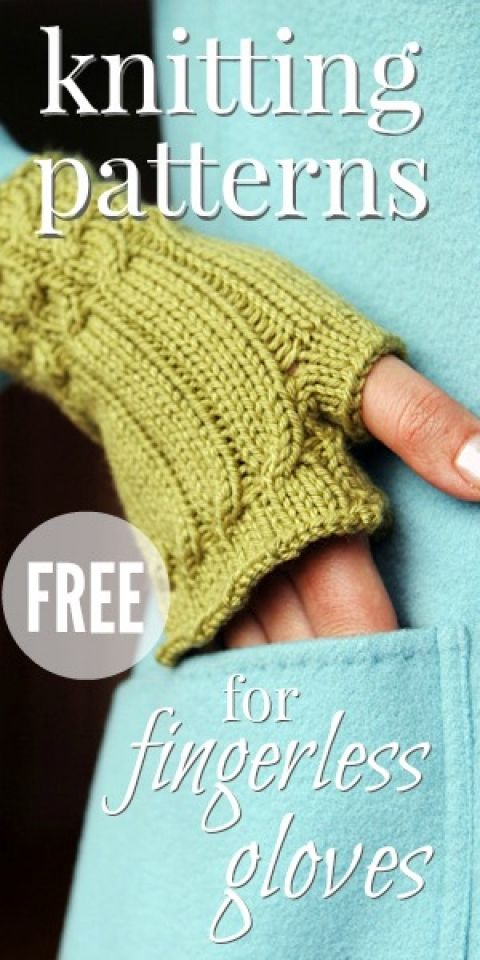 Free Fingerless Gloves Patterns For Knitters Fingerless Gloves