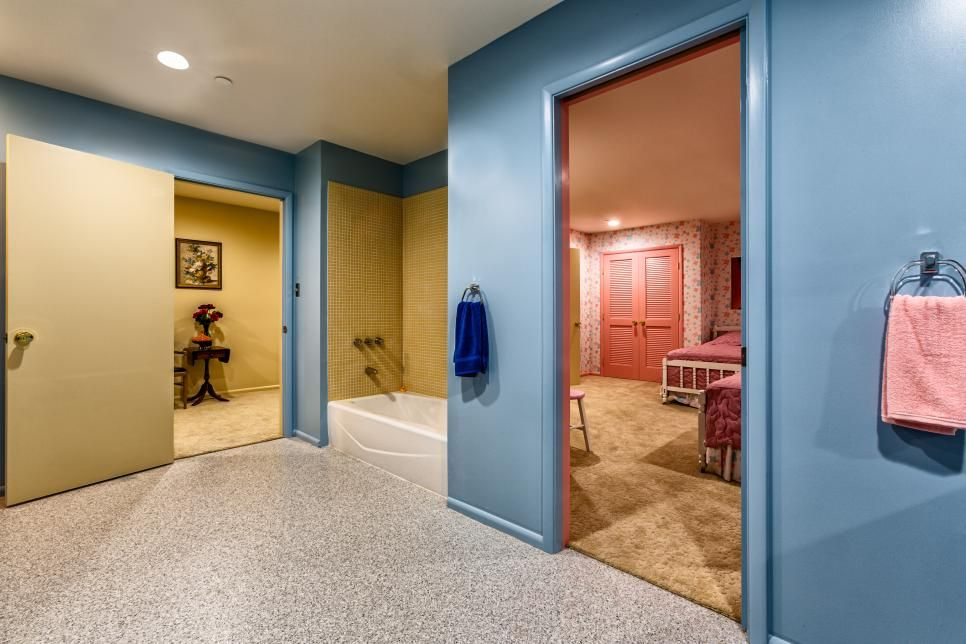 The Brady Bunch House Renovation Revealed - Part 2: Mike's Den & the Kids' Rooms