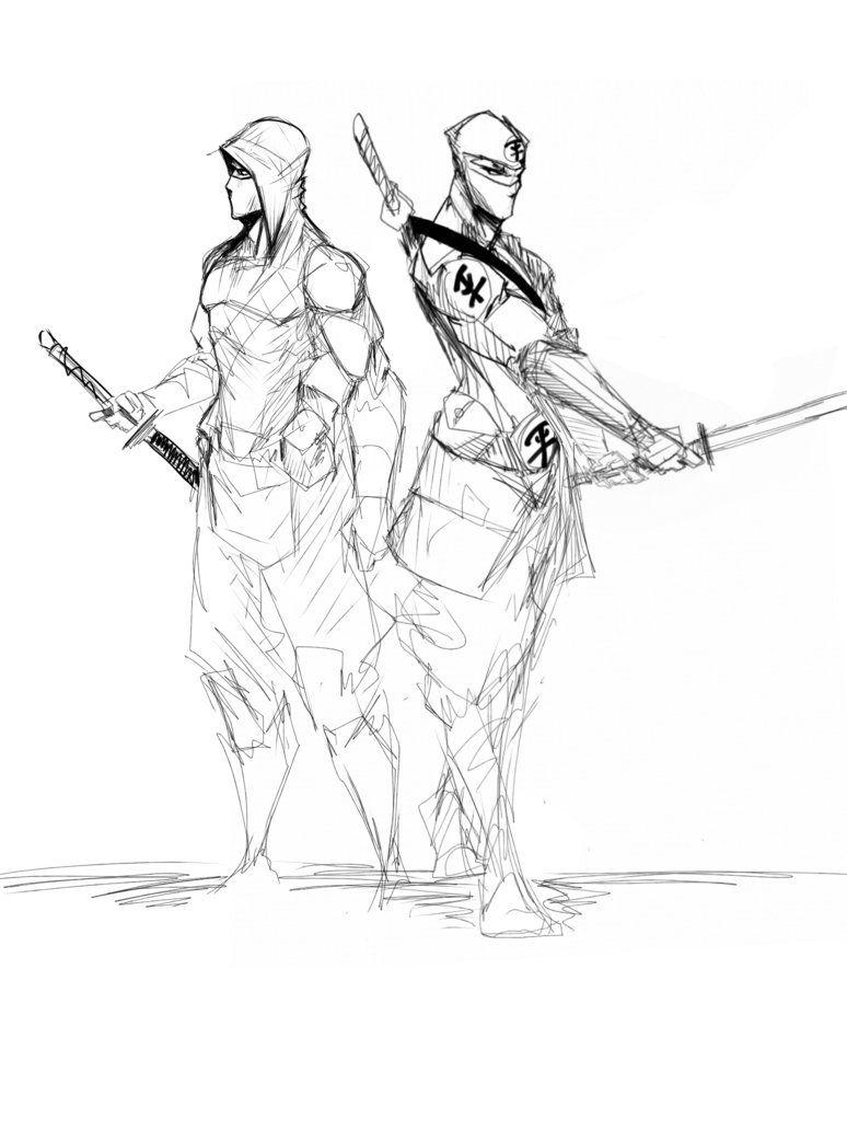 Equalist ninjas by Sketchydeez on deviantART
