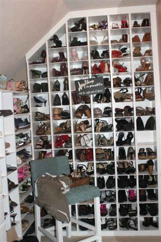 Envious Of This Shoe Closet Shoeaholics Anonymous Shoe Blog Shoe Storage Storage Shoe Closet