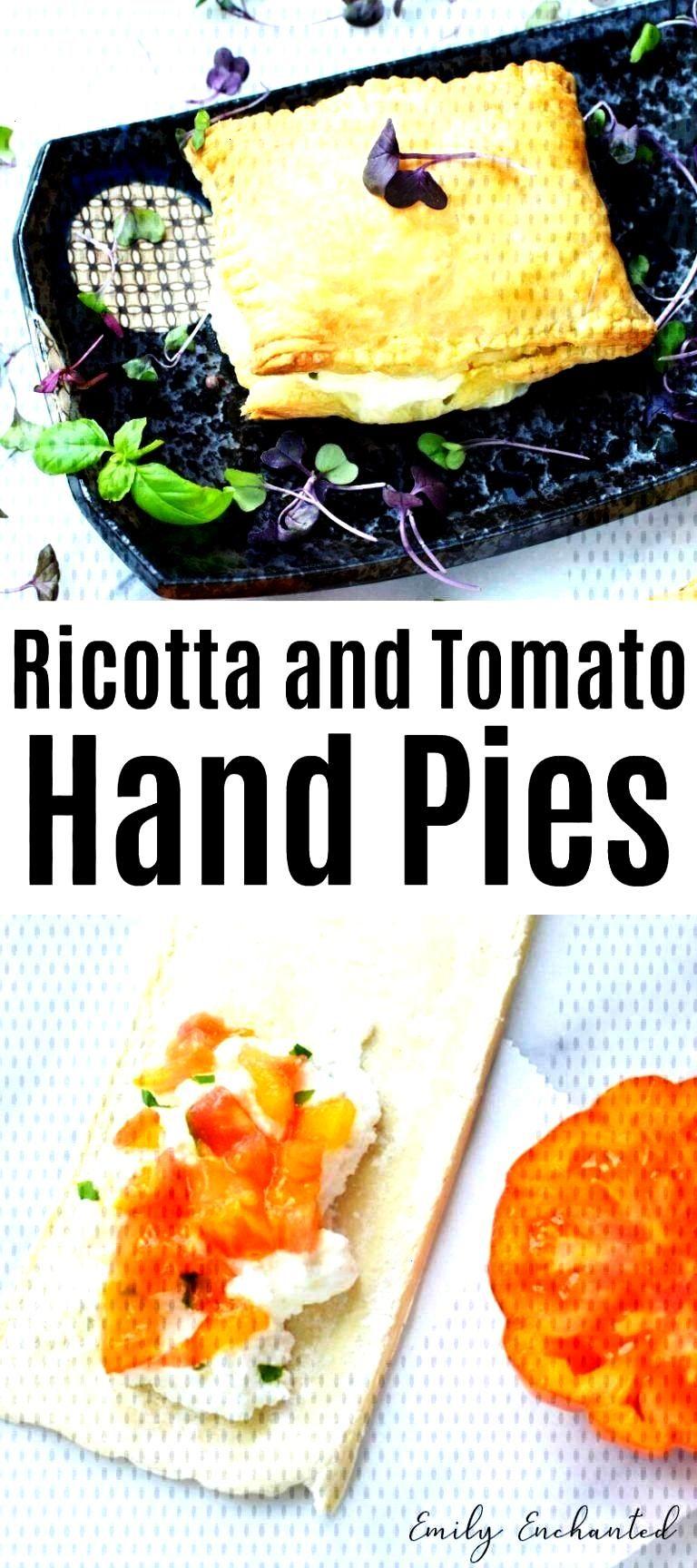 Ricotta and Tomato Savory Hand Pies Recipe - Lets Cook -Easy Ricotta and Tomato Savory Hand Pies