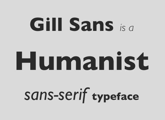 Kết quả hình ảnh cho humanist sans-serif
