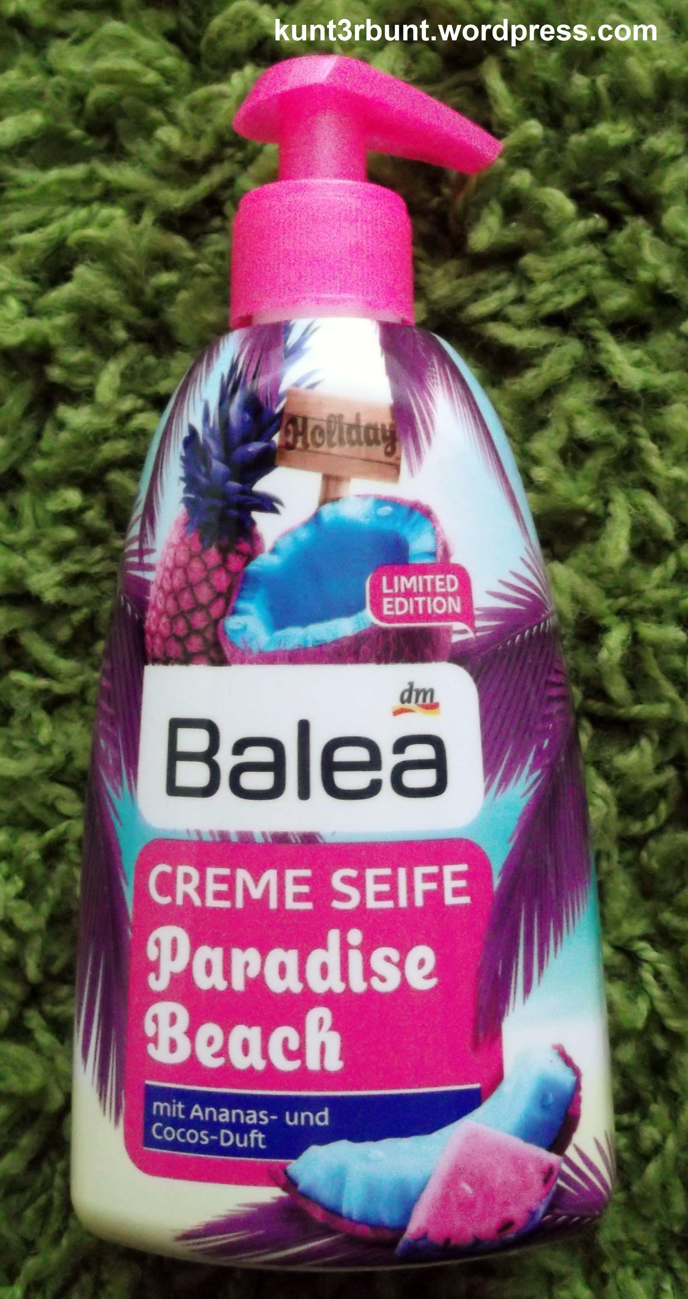 Balea Paradise Beach Creme Seife Balea Balea Produkte Und Balea Creme