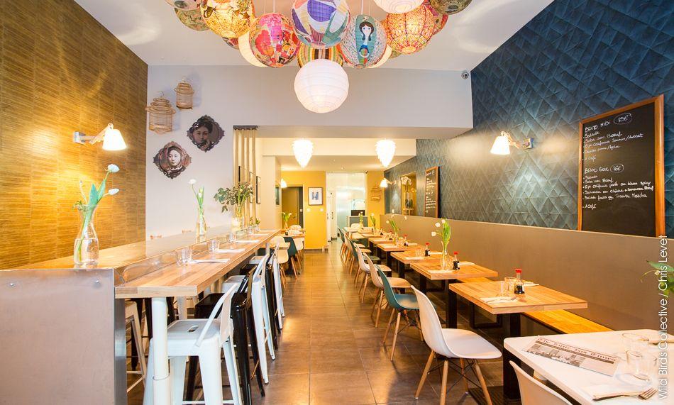 Grenoble : Décoration du restaurant Little Koï | Koi and Restaurants