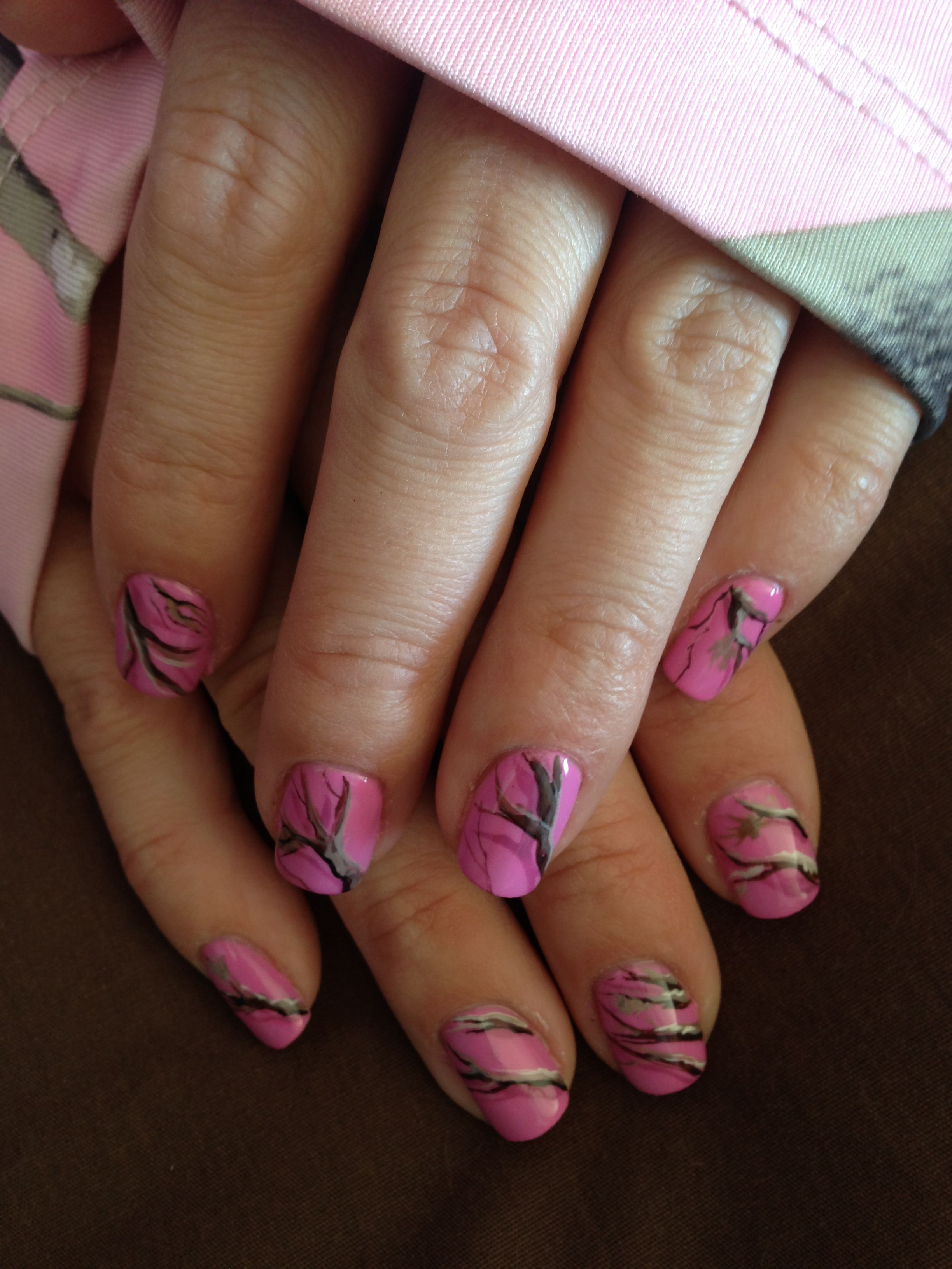 Pink Camo Nails Ooh La La Pinterest Pink Camo Nails Camo