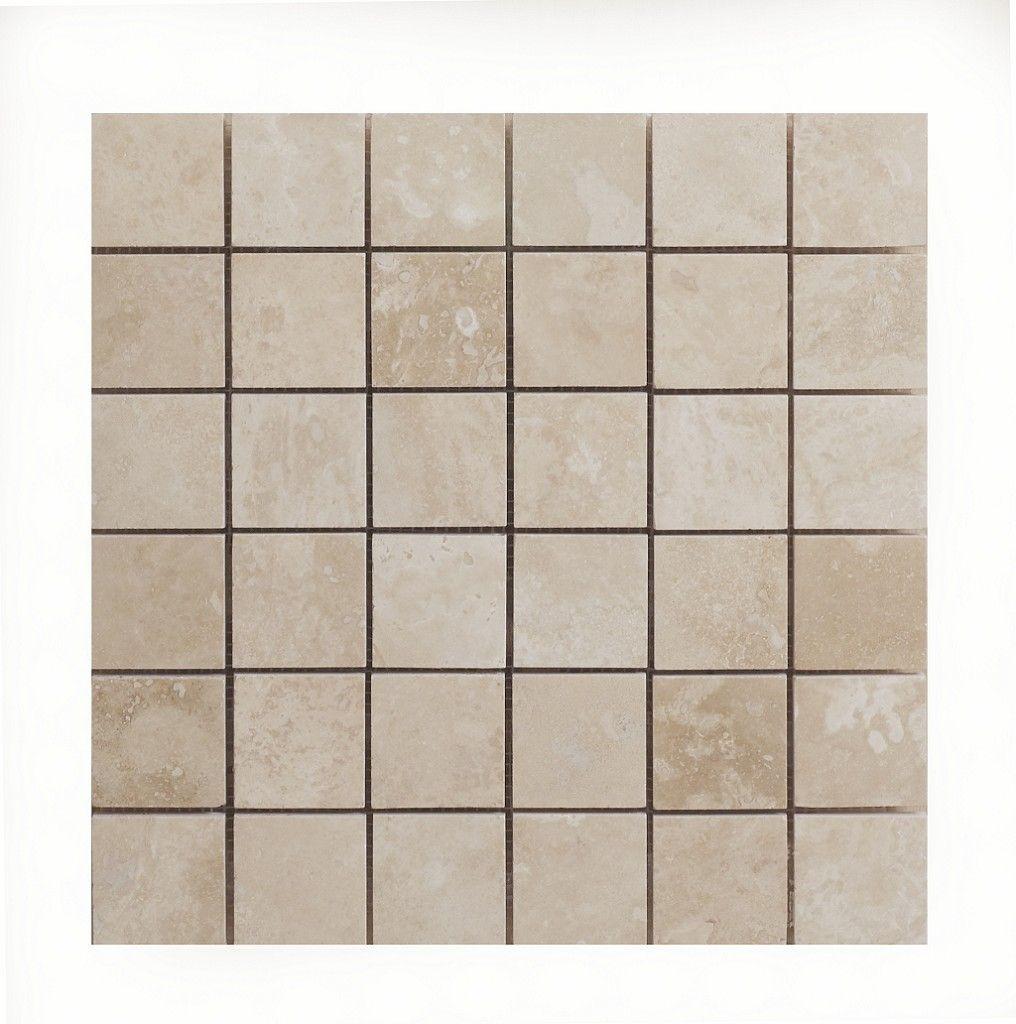 Prestige Stone Radiant Travertine Mosaic Xcm | Topps Tiles