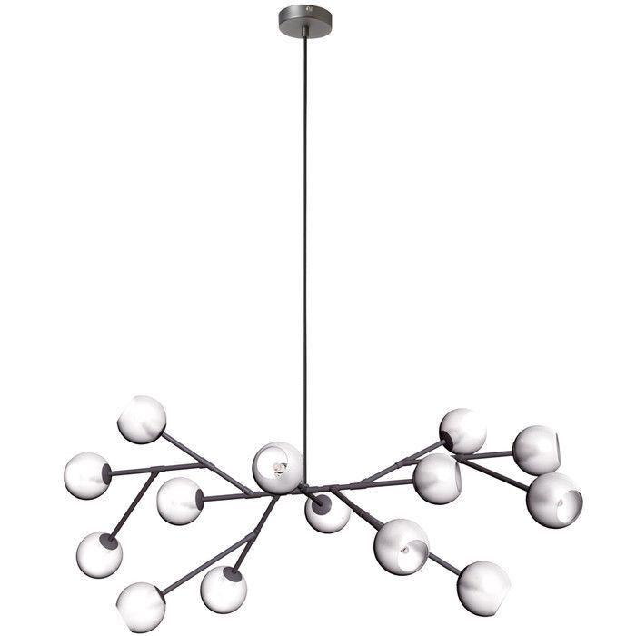 Radionic hi tech tanglewood 14 light chandelier reviews allmodern · contemporary chandeliermodern