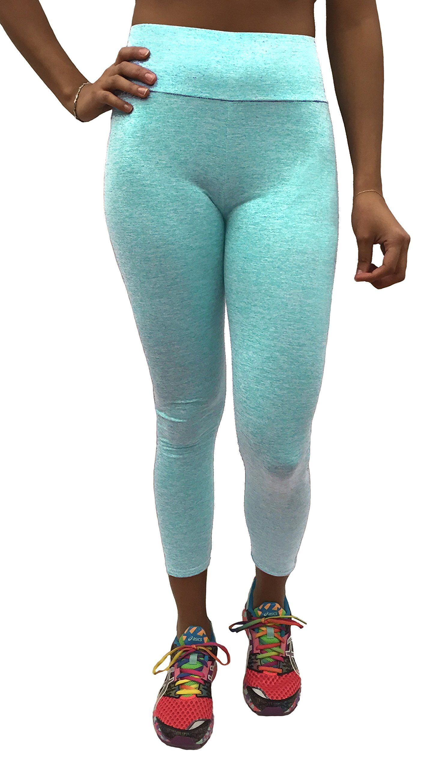 b6a670a688d42 Stay Dry Basics Easy Fit Active Yoga Leggings Aqua Marine XL *** Read more  at the image link. (This is an affiliate link)
