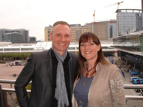 Besuch der Frankfurter #Buchmesse mit #Heidi Pütz um einen Verlag für mein erstes #Internet Marketing Buch zu finden