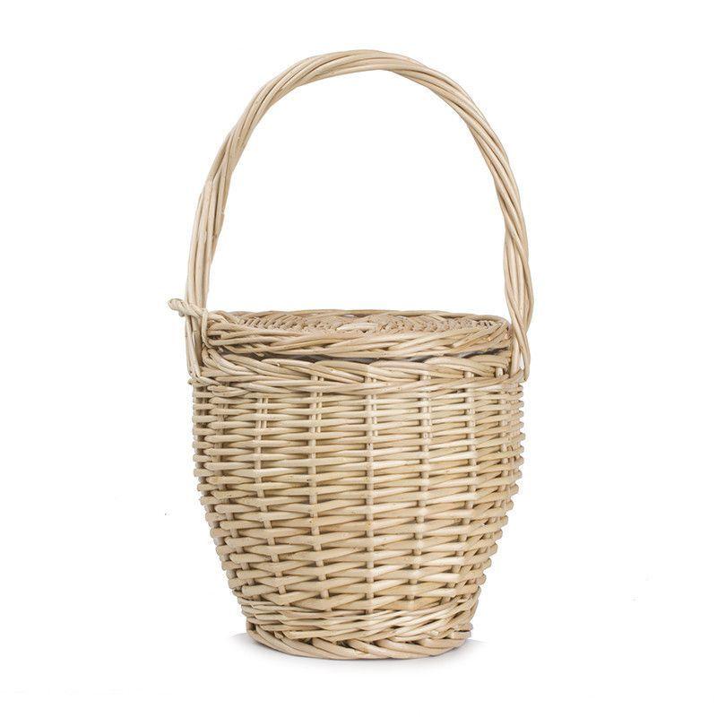 6b215ef4a5 Bohemian Jane Birkin Style Wicker Straw Mini Basket Bag ...