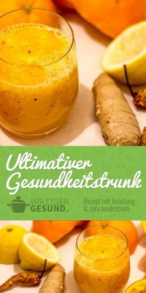 Photo of The ultimate health drink Recipe – we eat healthy