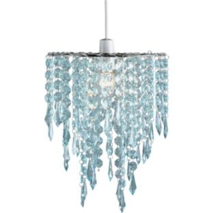 Lamp Shades At Argos: Buy Living Beaded Light Shade - Duck Egg at Argos.co.uk - Your,Lighting