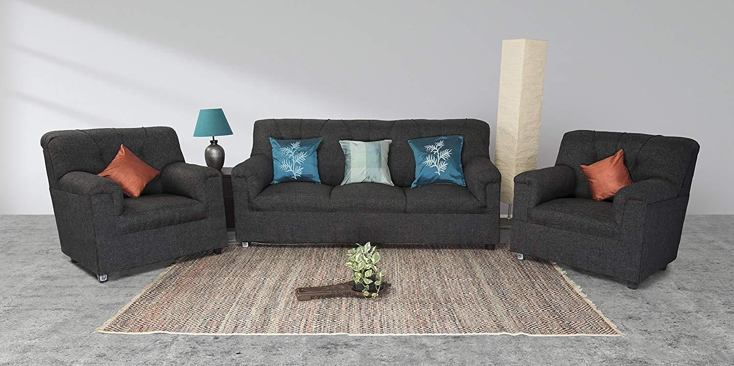 Insignia seater sofa set grey modern style  jute fabric material callusnowon daysdelivery exclusive theimmart techlaunches also rh pinterest