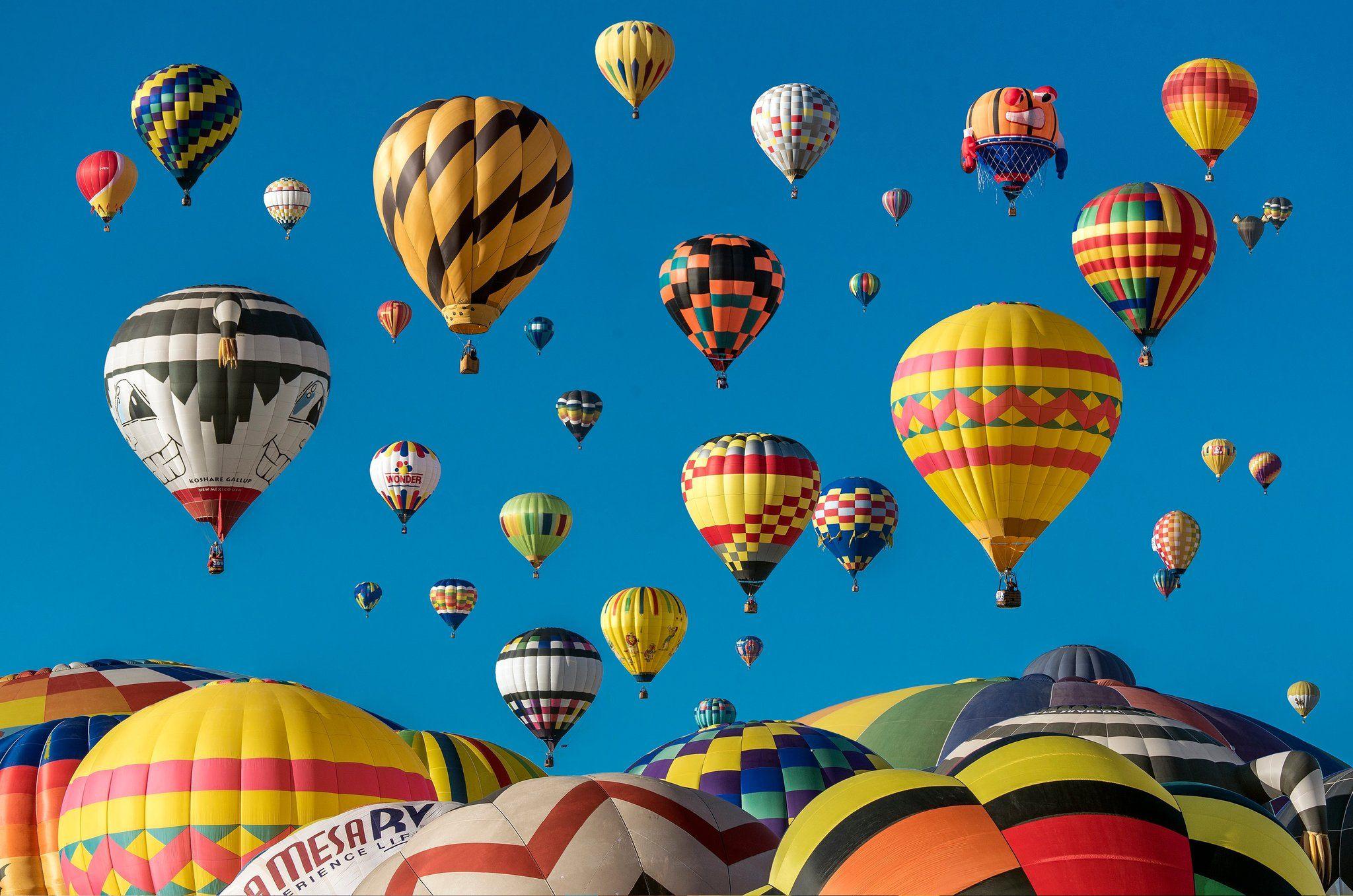 Go on a Hot Air Balloon Ride Air balloon rides, Air