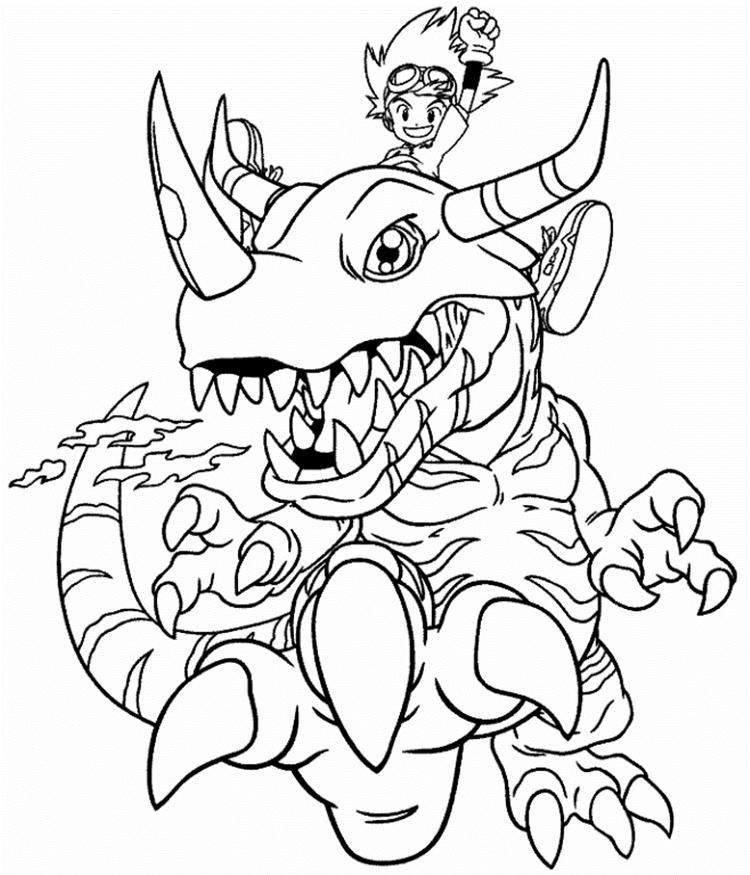 Metal Greymon Digimon Coloring Pages My Little Pony Coloring Dragon Coloring Page Coloring Pages