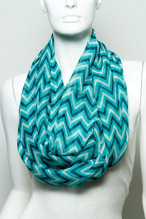 Two-Tone+Infinity+Scarf